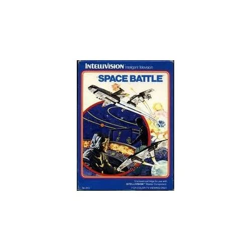 Space Battle Intellivision With Manual And Case