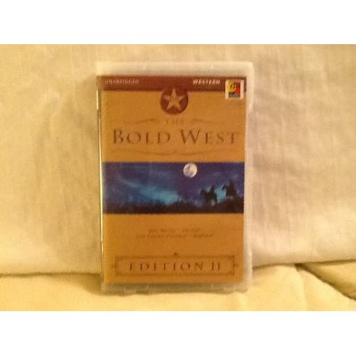 The Bold West 11 Edition By Max Brand On Audio Cassette