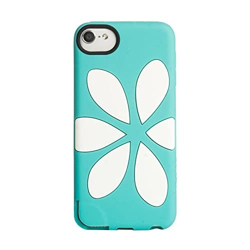 Agent 18 Flowervest Silicone Case For iPod Touch 5G Turquoise Fitted