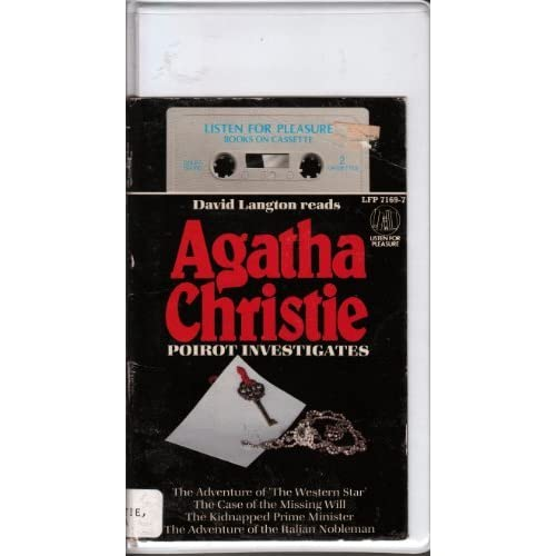 Image 0 of Poirot Investigates By Agatha Christie And David Langton On Audio Cassette