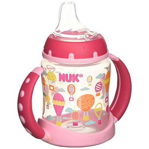 Nuk BPA Free Trendline Learner 5OZ Cup Silicone Spout Whimsy 1 Pk