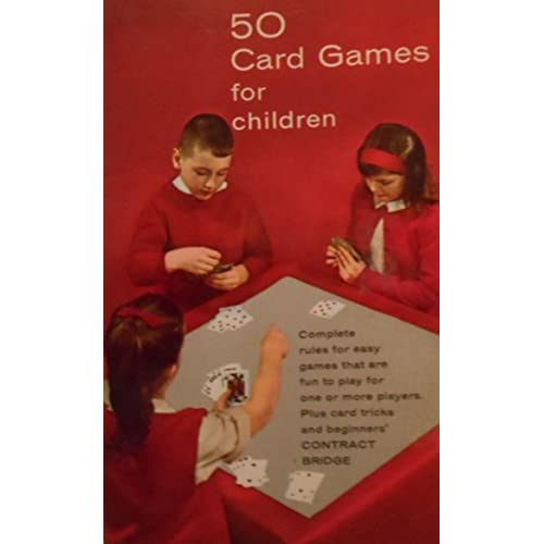 50 Card Games For Children By Vernon Quinn Book Paperback