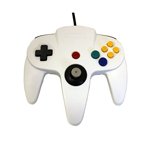 Image 0 of White Replacement Controller For N64 By Mars Devices Nintendo