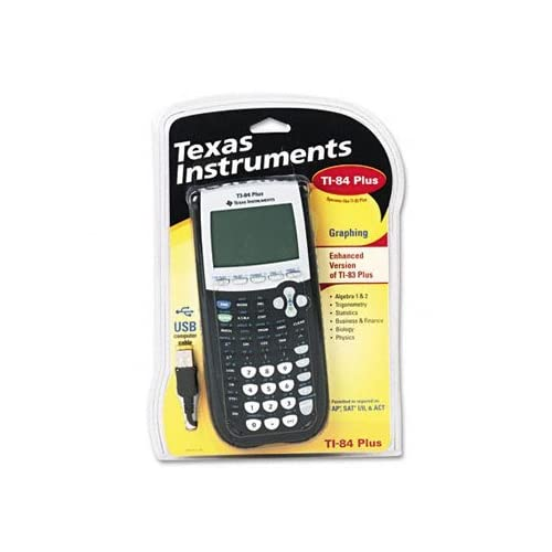 Lot Of 2 Texas Instruments TI-84PLUS Programmable Graphing Calculator