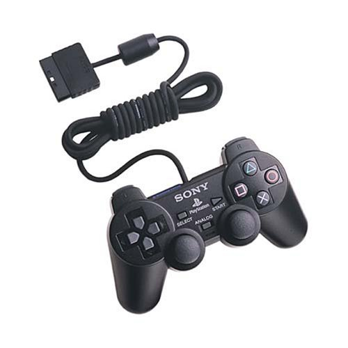 Image 0 of Sony OEM PlayStation 2 Dual Shock Controller Black