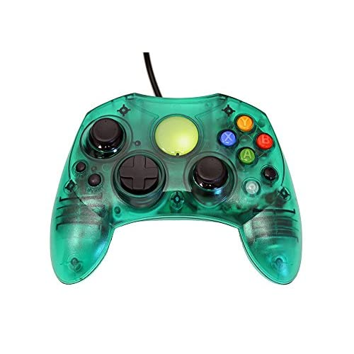 Image 0 of Replacement Controller For Xbox Original Green Transparent By Mars Devices