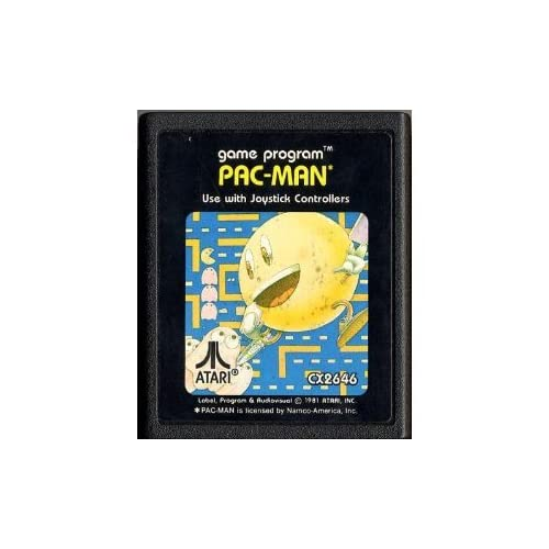 Pac-Man For Atari Vintage Arcade