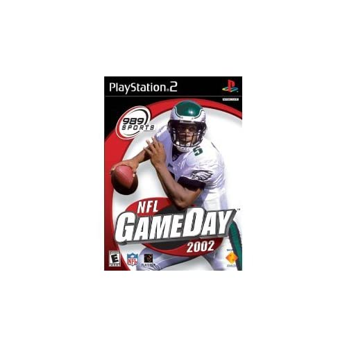 Image 0 of NFL Gameday 2002 For PlayStation 2 PS2 Football