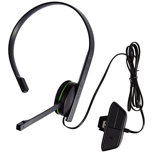 Chat Headset For Xbox One Microphone Mic Black Microsoft