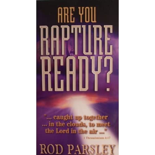 Image 0 of Rod Parsley Are You Rapture Ready? TS131 2 Audio Cassettes Breakthrough A Media