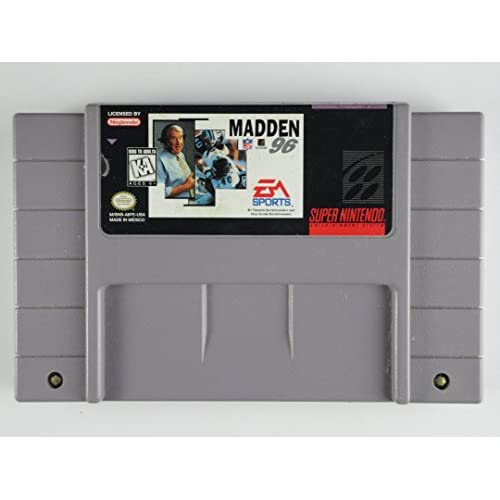 Madden NFL 96 For Super Nintendo SNES Football