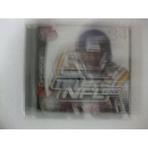NFL 2K2 For Dreamcast Football For Sega Dreamcast