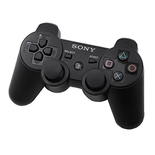 Sony OEM PS3 Dualshock 3 Controller Black For PlayStation 3