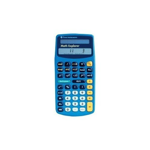 Texas Instruments Math Explorer Calculator Scientific JTB423