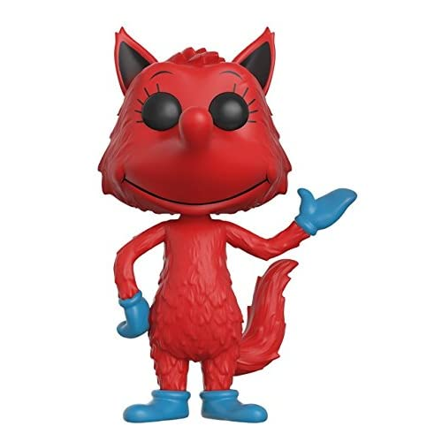 Funko Pop Books: Dr Seuss Fox In Socks Toy Figure