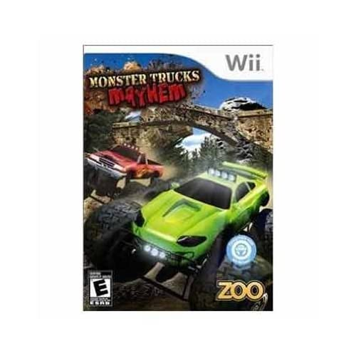 Image 0 of Monster Truck Mayhem For Wii And Wii U Racing