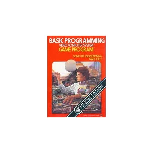 Basic Programming For Atari Vintage With Manual and Case