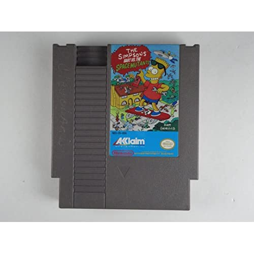 Image 0 of The Simpsons: Bart Vs The Space Mutants For Nintendo NES Vintage