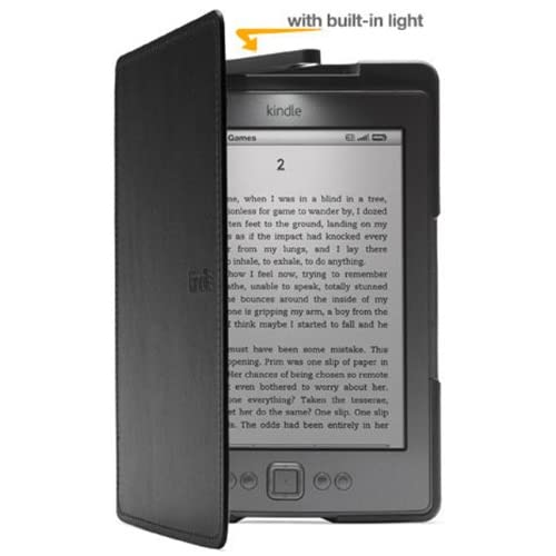 Amazon Kindle Lighted Leather Cover Black Does Not Fit Kindle