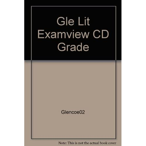 Image 0 of Examview Pro Testmaker Cd-Rom Glencoe Literature The Reader's Choice Course 2 So