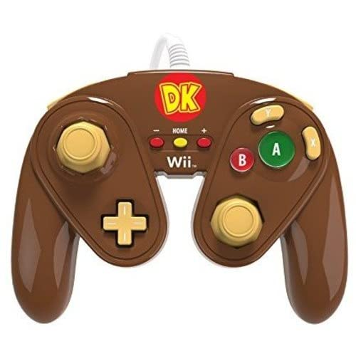 PDP Wired Fight Pad For Wii U Donkey Kong Multicolor Gamepad SEJ745