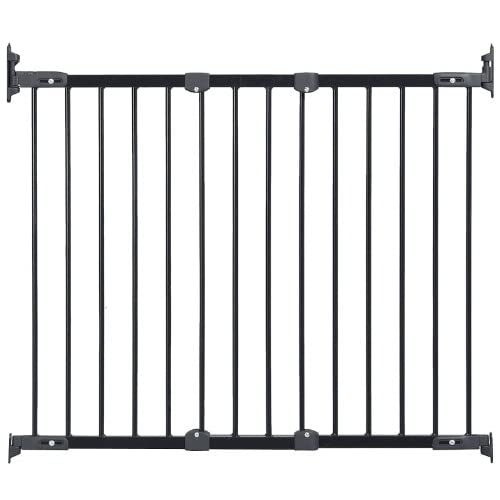 KidCo Angle Mount Safeway Gate Black Metal 28 To 42.5 With Stairway