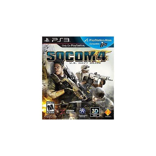 Socom 4: US Navy Seals MOVE/3D Compatible For PlayStation 3 PS3