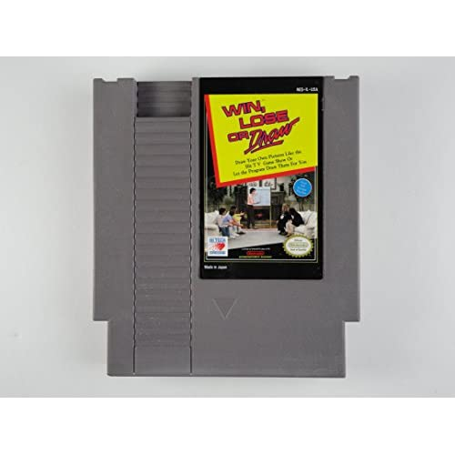 Image 0 of Win Lose Or Draw For Nintendo NES Vintage Puzzle