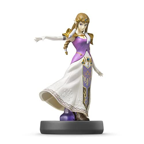 Image 0 of Zelda Amiibo Super Smash Bros Series Figure Character