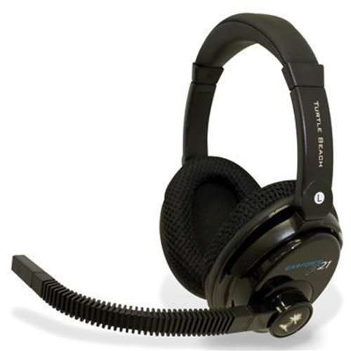 Image 0 of PS3 Ear Force PX21 Gaming Headset For PlayStation 3 Microphone Mic Black Earforc