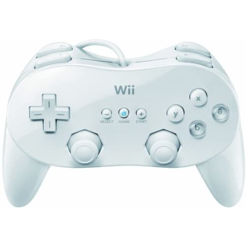 Image 0 of Classic Controller Pro White For Wii Gamepad