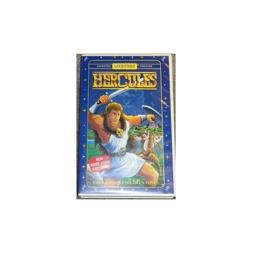 Hercules The Version Children Love! On VHS With Jetlag Productions