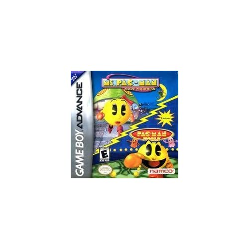 Image 0 of Ms Pac-Man Maze Madness And Pac-Man World For GBA Gameboy Advance Puzzle