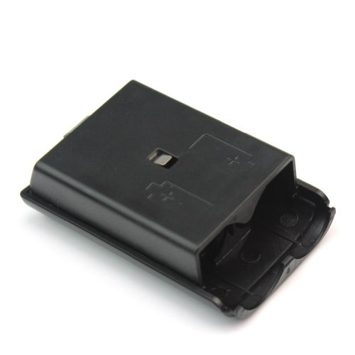 Image 2 of Black Battery Pack Cover Controller For Xbox 360