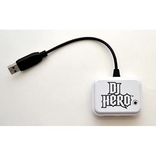 PS3 DJ Hero 2 Turntable White Receiver Dongle Only Wireless USB PRT0000403 For P