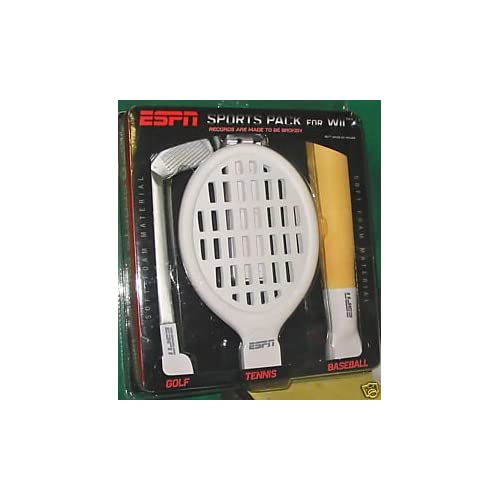 Image 0 of ESPN Sports Pack For Wii Golf Tennis Baseball