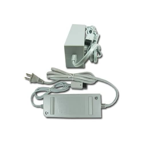 AC Adapter Power Supply Cord Cable USA For Wii Wall Charger