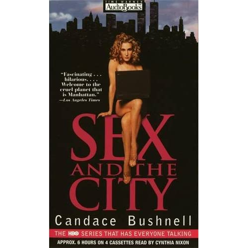 Image 0 of Sex And The City By Candace Bushnell And Cynthia Nixon Reader On Audio Cassette