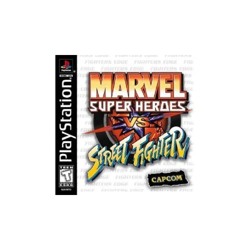 Marvel Super Heroes Vs Street Fighter For PlayStation 1 ...