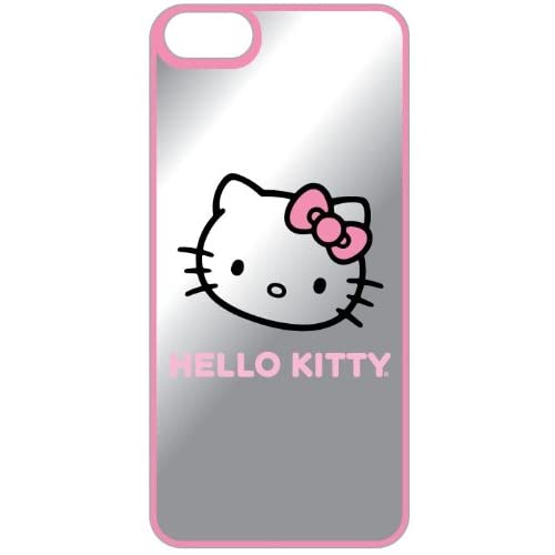 Image 0 of Hello Kitty Mirror Finish Hardshell Case For iPhone 5 5S SE Pink Cover