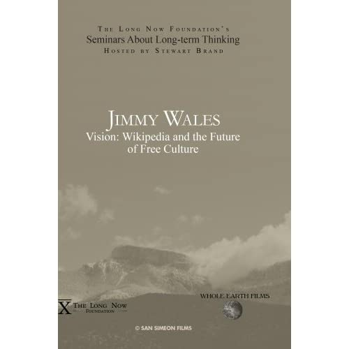 Image 0 of Jimmy Wales: Vision: Wikipedia And The Future Of Free Culture On DVD