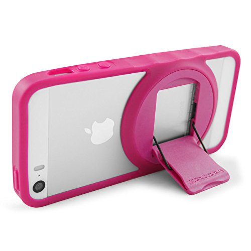 Image 2 of iPhone 5 5S SE VarioEdge Stand Case By ZeroChroma Pink Cover Multi