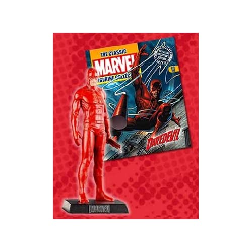 Classic Marvel Figurine Collection Magazine #13 Daredevil Toy
