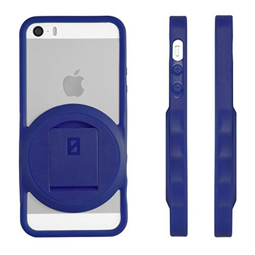 Image 0 of iPhone 5 5S SE Varioedge Stand Case By Zerochroma Blue Cover Multi