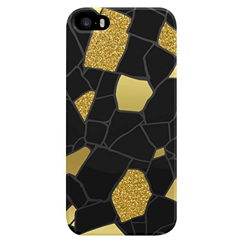 AGENT18 Cell Phone Case For iPhone 5 5S SE Glitter Stones Cover Multi-Color Fitt
