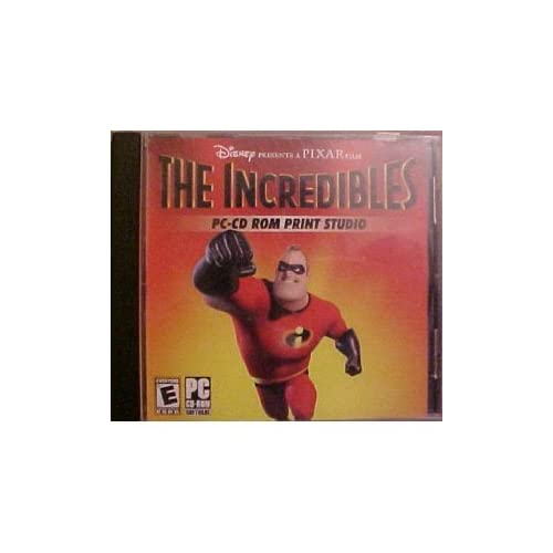 Image 0 of The Incredibles Pc-Cd Rom Print Studio Software