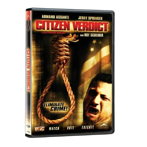 Image 0 of Citizen Verdict On DVD with Armand Assante Mystery