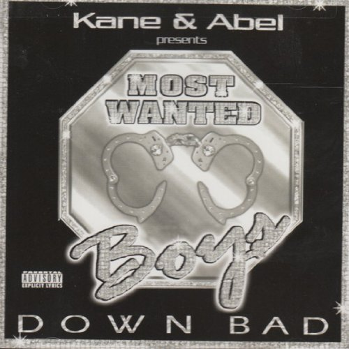 Image 0 of Down Bad On Audio CD Album By Most Wanted Boys 2001