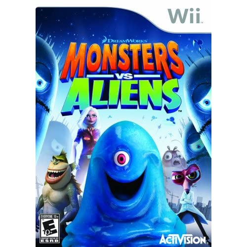 Image 0 of Monsters Vs Aliens For Wii And Wii U