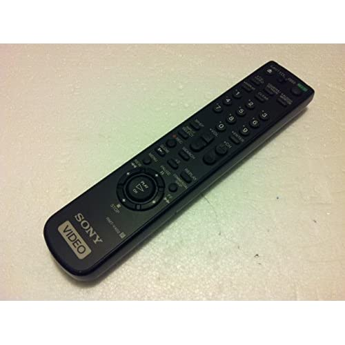Image 0 of Sony Video RMT-V402 Remote Control SLV-N650 SLV-N750 SLV-N77  Black Infrared